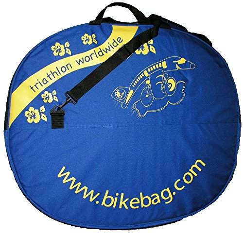 Bike Bag Dual Padded Wheel Bag for Airline travel, Bicycle Wheel Transport Case