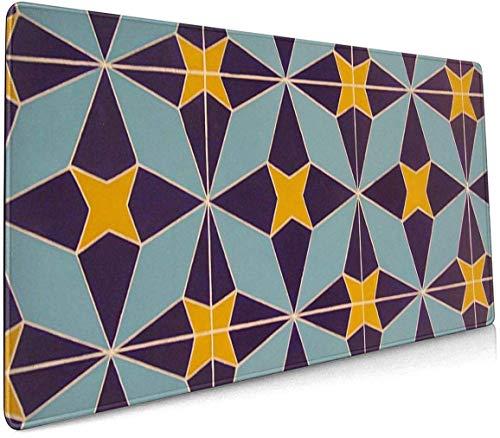 Antiek Klok Profional Grote Muis Pad Toetsenbord Pad Lange ed Multifunctionele Computer Game Muis Mat Eén maat Arabic Geometric Mosaic
