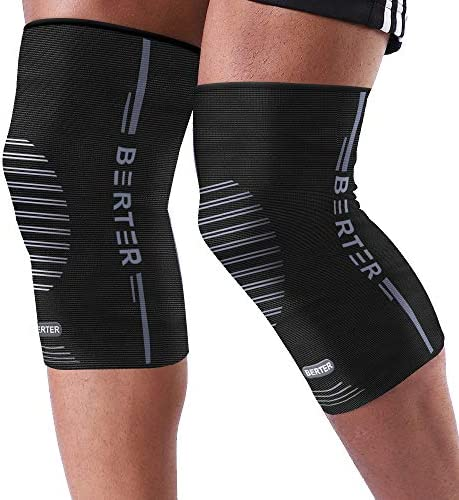 BERTER Knee Compression Sleeve Support for Running Jogging Sports Brace for Joint Pain Relief product image