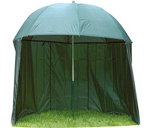 Behr Angeln Red Carp Schirm mit Zelt, 2,20 m, 60378