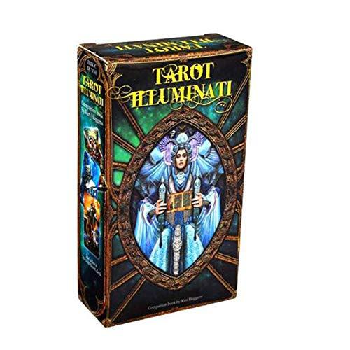 LDFANG Tarot Illuminati Kit: EIN 78-Karten-Deck