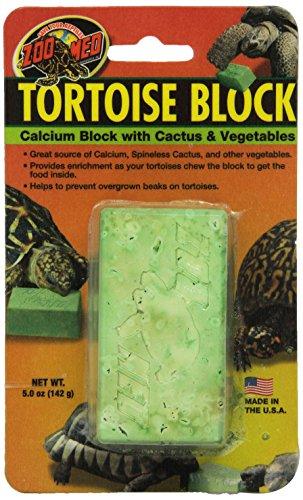 Zoo Med Laboratories SZMBB55 Tortoise Banquet Block, Net WT 5 oz