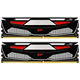 シリコンパワー デスクトップPC用メモリ ゲーミング DDR4-2666(PC4-21300) 16GBx2枚 1.2V 永久保証 SP032GBLFU266BD2BU