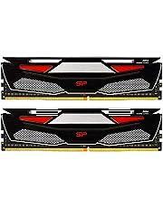 シリコンパワー デスクトップPC用メモリ ゲーミング DDR4-2666(PC4-21300) 8GBx2枚 1.2V 永久保証 SP016GBLFU266BD2BU