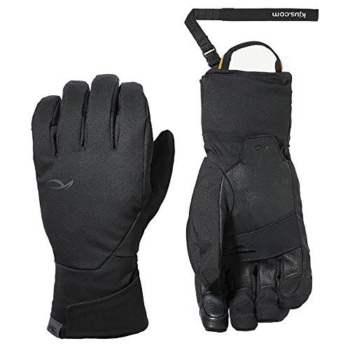 KJUS Men Formula Glove Schwarz, Herren Dermizax™ Fingerhandschuh, Größe 8.5 - Farbe Black