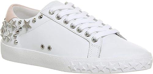 Ash Chaussures Dazed paniers en Cuir Blanc Blanc Femme  obtenir la dernière