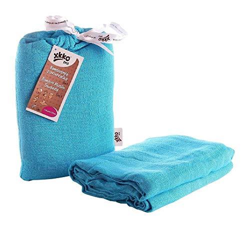 Easy enfants idées bmb12 lo-0004 a Bamboo Muslin Swaddle Couverture d'emmaillotage, bleu