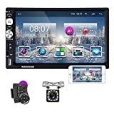 Double Din Car Stereo 7 Inch Universal Android Touch Screen Car Radio AM