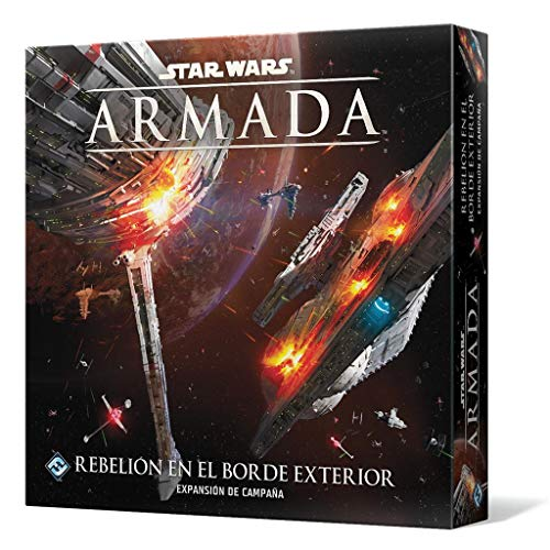 Fantasy Flight Games- Star Wars Armada - Rebelión en el Borde Exterior, Color (SWM31ES) , color/modelo surtido