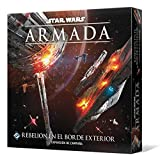 Fantasy Flight Games- Star Wars Armada - Rebelión en el Borde Exterior, Color...