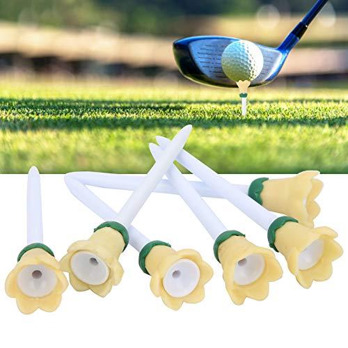 SHYEKYO Camisetas de Golf, Camisetas de Golf de la Forma de la Flor de la Moda respetuosas del Medio Ambiente para Las Pelotas de Golf para el Ejercicio
