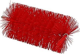 """Vikan 53914 Medium Tube Brush, Polyester, 3-1/2"""" x 7-3/4"""" OAL, Red"""