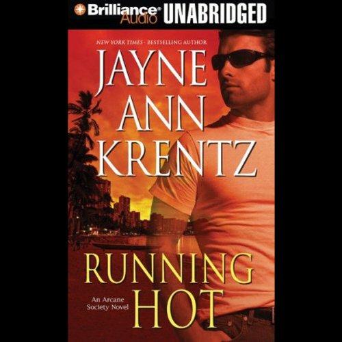 Running Hot audiobook cover art