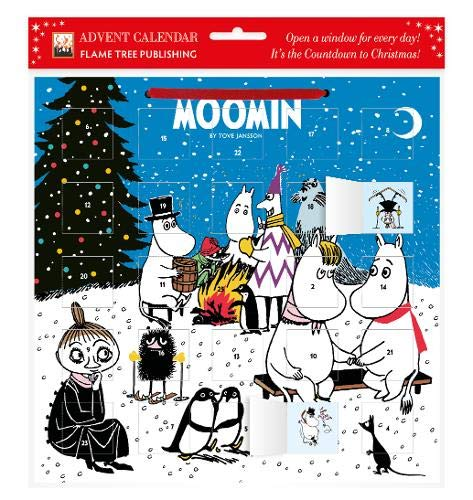 Moomins by the Fire Advent Calendar (with stickers)