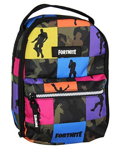 FORTNITE unisex child Multiplier Lunch Kit Kid s Backpack, Camo, One Size US
