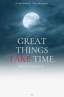 Great Things Take Time