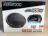 Kenwood KFC-6966R Road Series 6' x 9' 3-Way Car Speakers with Cloth Cones (Pair) - Black