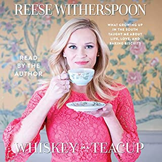 Whiskey in a Teacup                   Written by:                                                                                                                                 Reese Witherspoon                               Narrated by:                                                                                                                                 Reese Witherspoon                      Length: 2 hrs and 50 mins     41 ratings     Overall 4.7