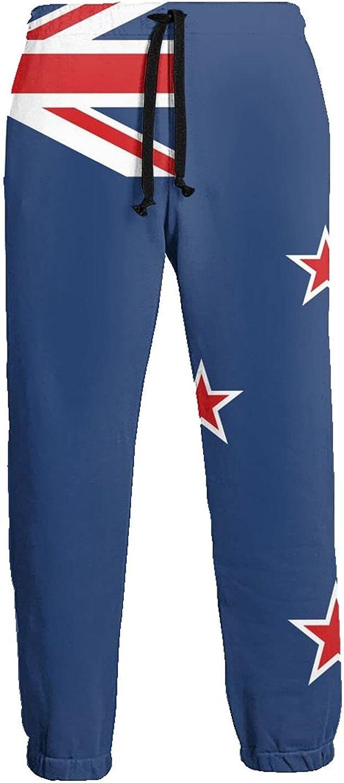 Mens Jogger Sweatpants Australia Flag Lightweight Workout Athletic Joggers Pants Trousers