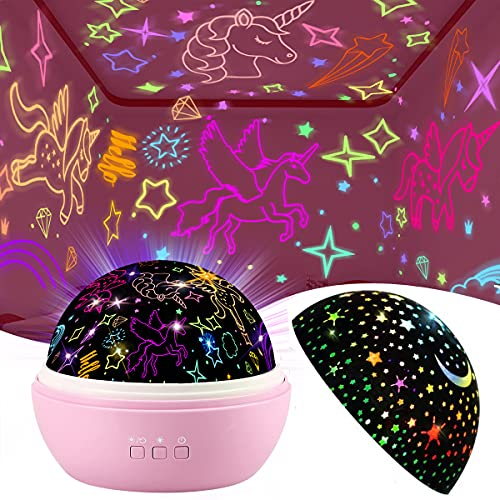 Unicorn Night Light & Star Projector Light