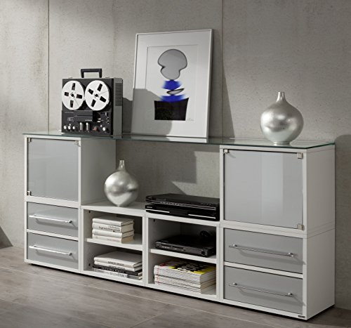 Klenk Dancer Würfel weiß - Regalwürfel optimal auch für Rollladenschrank 45 x 35 x 40 cm
