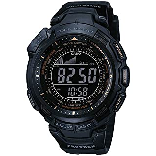Casio Men's  Pro-Trek Digital Watch PRW-1300Y-1VER with solar powered radio controller (B001CZXB7G) | Amazon price tracker / tracking, Amazon price history charts, Amazon price watches, Amazon price drop alerts