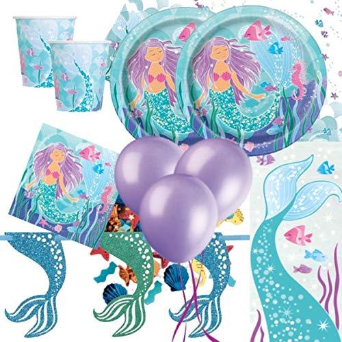 Party Bags 2 Go Sirena Deluxe Accessori per Feste Kit per 16