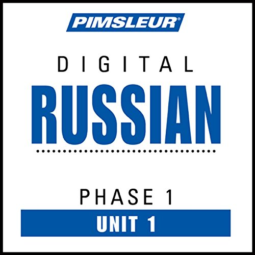 Russian Phase 1, Unit 01 audiobook cover art