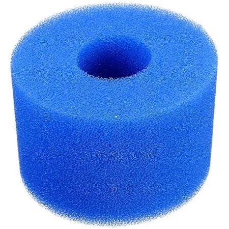 Riiai Filter Sponge Washable Reusable Swimming Pool Filter Pump Cartridge Sponge Foam for Intex System Type A 20 4cm 10