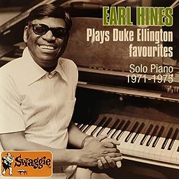 Earl Hines Plays Duke Ellington Favourites