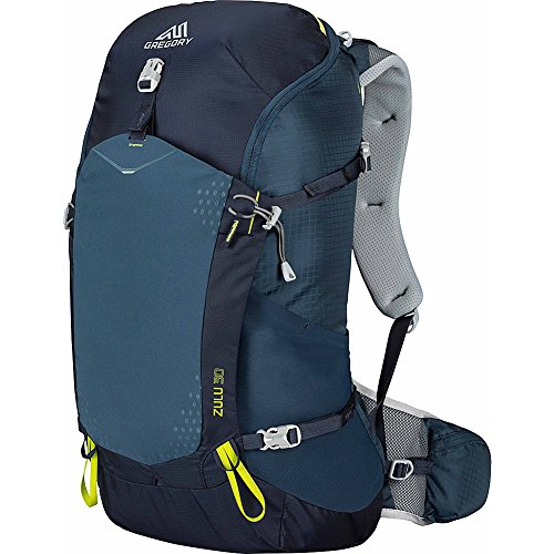 Gregory Mountain Products Zulu 30 Liter Men's Backpack, Navy Blue, Large