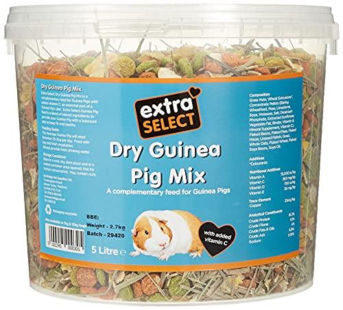 Extra Select Dry Guinea Pig Mix Bucket, 5 Litre