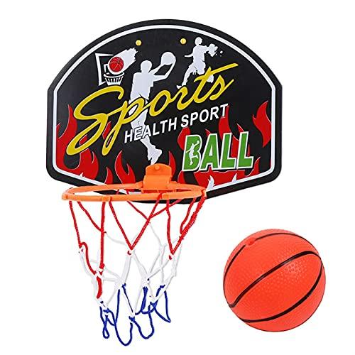 AIysays 27 * 21 cm Canasta de Baloncesto de plástico Hoop Juguete Mini Tablero de Baloncesto Canasta Familia Niños Baloncesto Juego de Juguetes Juego de Pared Mini Cesta Easy to Use (Color : D)
