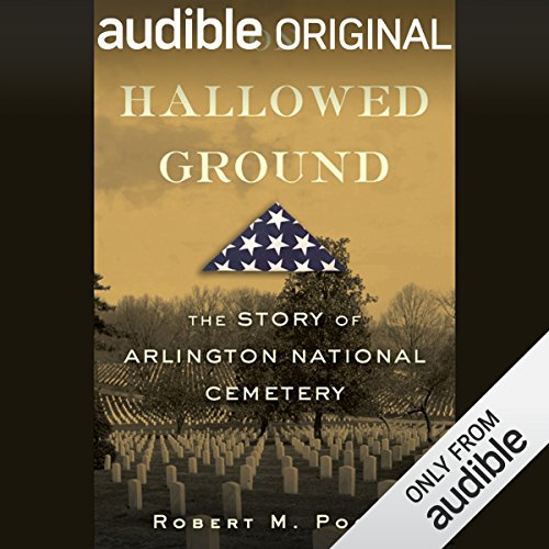 An interview with Robert M. Poole, author of On Hallowed Ground audiobook cover art