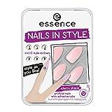 Essence Set De Productos Essence Uñas Postizas 12 Ud+Diseño Adhesivos 03 226303 M-2-1 unidad