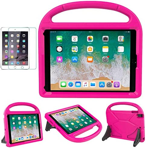 MOXOTEK Kids Case for iPad 9 7 2018 2017 Air 1 2 Pro 9 7 Durable Shockproof Protective Handle product image