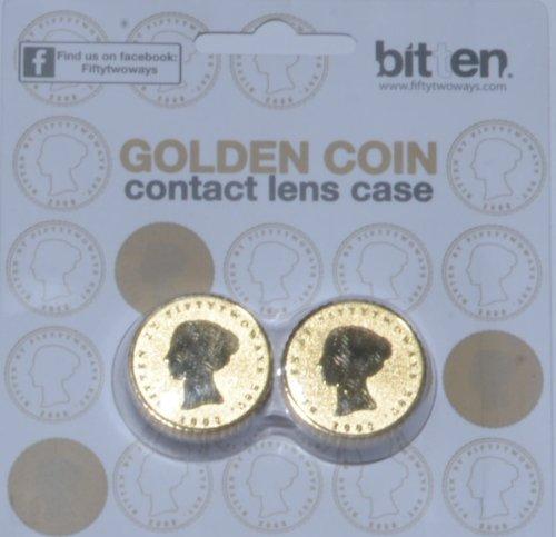 Schutzhülle mit Linsen Design Münze Gold