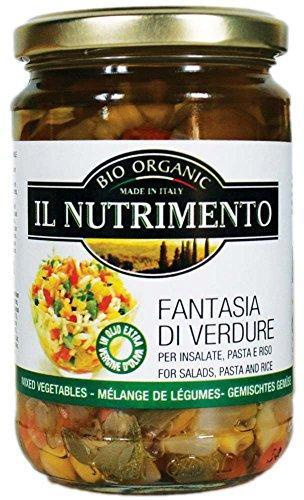 IL NUTRIMENTO Gemüse - Fantasie In Olivenöl Extra, 2er Pack (2 x 280 g)