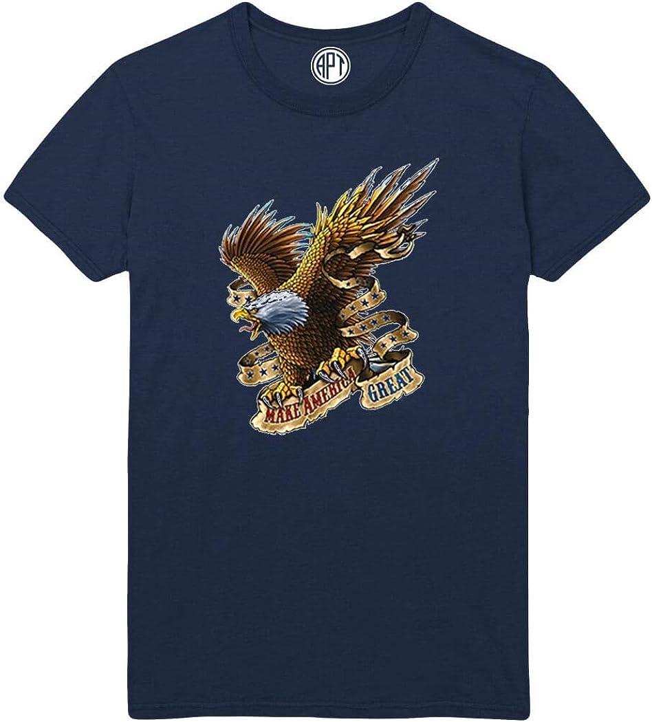 Make America Great Eagle Printed T-Shirt
