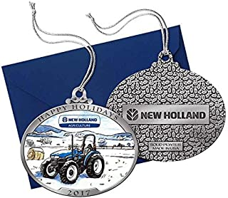 new holland tractor christmas ornaments