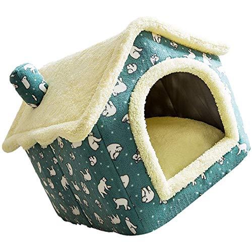 Casa de mascotas al aire libre cueva cueva de gato caliente, impermeable con calefacción por gato de gato PET CABLE NEST CAN PAPA CABLE CASA CASA DE CABEZA PEQUEÑA PERRO PETRIBLE Suministros p