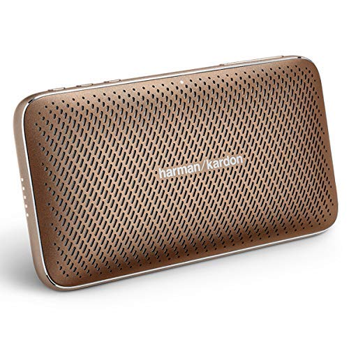 하만카톤 에스콰이어 미니2 포터블 블루투스 스피커 - 브라운 Harman Harma Kardon Esquire Mini 2 Ultra-Slim and Portable Premium Bluetooth Speaker - Brown