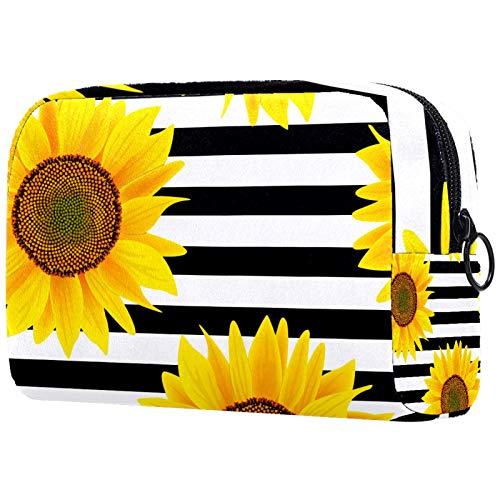 Bolsa de viaje para cosméticos portátil de gran capacidad para guardar cosméticos y bolsas de almacenamiento de bolsas de lavado con patrón de pescado