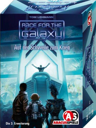 ABACUSSPIELE 13101 - Race for The Galaxy - Auf der Schwelle zum Krieg. 3. Erweiterung, Kartenspiel