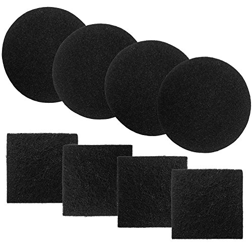 Learn More About Chef's Star Replacement Compost Bin Charcoal Filters 4 Pack