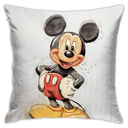 YUNYANG Juego de fundas de almohada para sofá o sofá, diseño retro, 45,7 x 45,7 cm