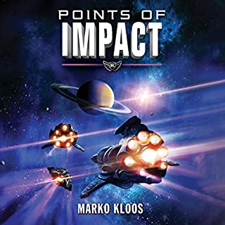 Points of Impact     Frontlines, Book 6              Written by:                                                                                                                                 Marko Kloos                               Narrated by:                                                                                                                                 Luke Daniels                      Length: 8 hrs and 49 mins     25 ratings     Overall 4.4