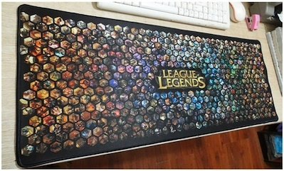 Grande League of Legends Gaming Mouse pad–700mm * 300MM * 3mm