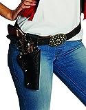 Photo de Ceinture de cowboy Lady noire en Lefa