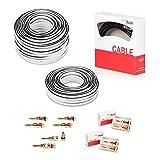 Teufel 5.1 Heimkino Kabel-Set 50m² Performance C4545S Weiß